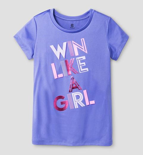 Girls' Graphic Tech T-Shirt - C9 Champion