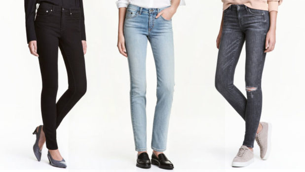 H&M Sale Items Are An Extra 25% Off Today Only--Get These Flattering Jeans For Just $18 Before They're Gone!