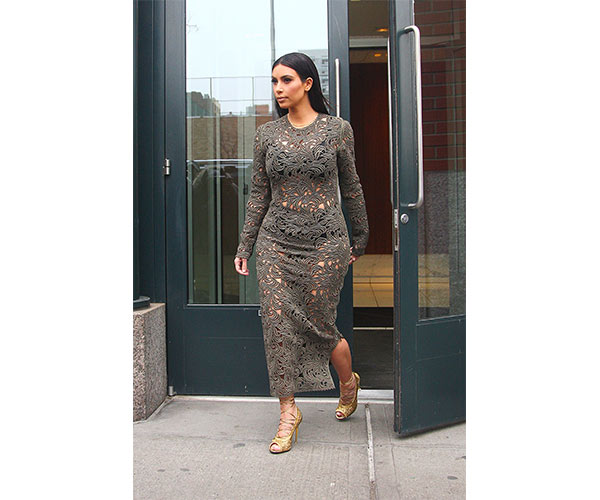 kim kardashian sheer dress