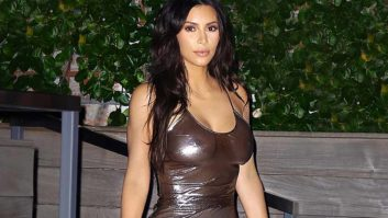 Did Kim Kardashian Really Not Realize That Her Outfit Was Completely See-Thru?