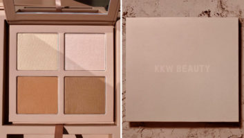 The KKW Beauty Powder Contour Palette Is Finally Here & We're Freaking Out!