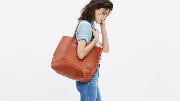 This Is <em>The Best</em> Everyday Leather Tote