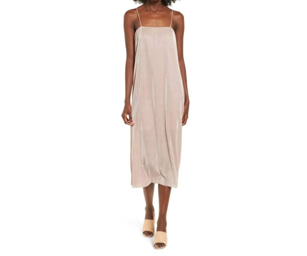 bp ribbed midi slipdress