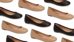 These Are The <em>Perfect</em> Wear-Anywhere Leather Ballet Flats... And They're Only $34!