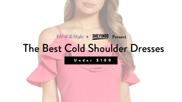 SHEfinds x Rank & Style: The Best Cold Shoulder Dresses Under $100