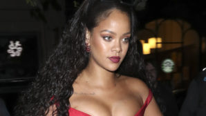 What Is Rihanna Wearing? She's Practically Naked!