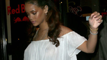Did Rihanna Really Not Realize That Her Outfit Was Completely See-Thru?