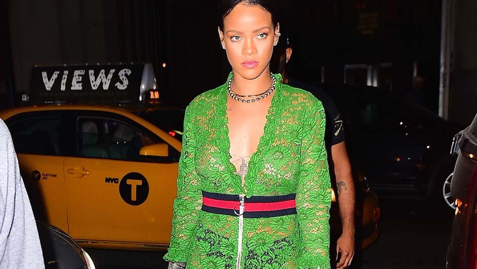 through dress see Rihanna