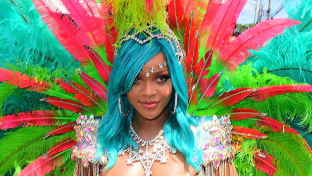 Rihanna Has Blue Mermaid Hair Now & We're Loving It!