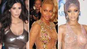 7 Celebs With Big Boobs Who Aren't Afraid To Wear See-Thru Outfits