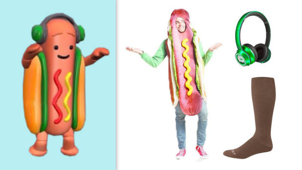 Here's Everything You Need To DIY A Hot Dog Snapchat Filter Halloween Costume