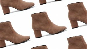 Psst! These $39 Suede Booties Look Good With Everything And Are Super Comfortable