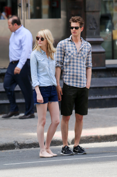 Are Emma Stone And Andrew Garfield Back Together Shefinds