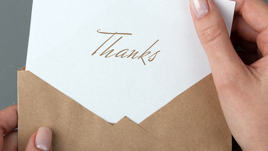 Mistakes The Bride Makes On Wedding Thank You Notes