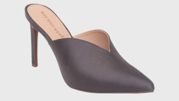 All The Fashion Girls Are Wearing These $35 Mules From Target