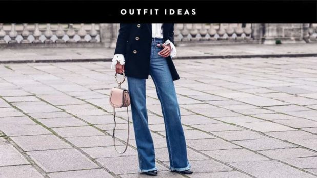 Tired Of Skinnies? Switch Things Up With These Wide Leg Jean Outfit Ideas