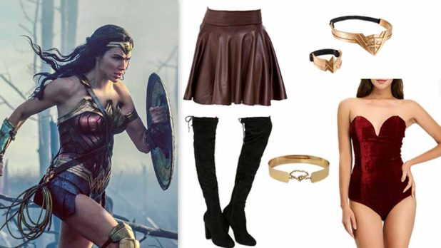 How To Make Your Own Wonder Woman Halloween Costume