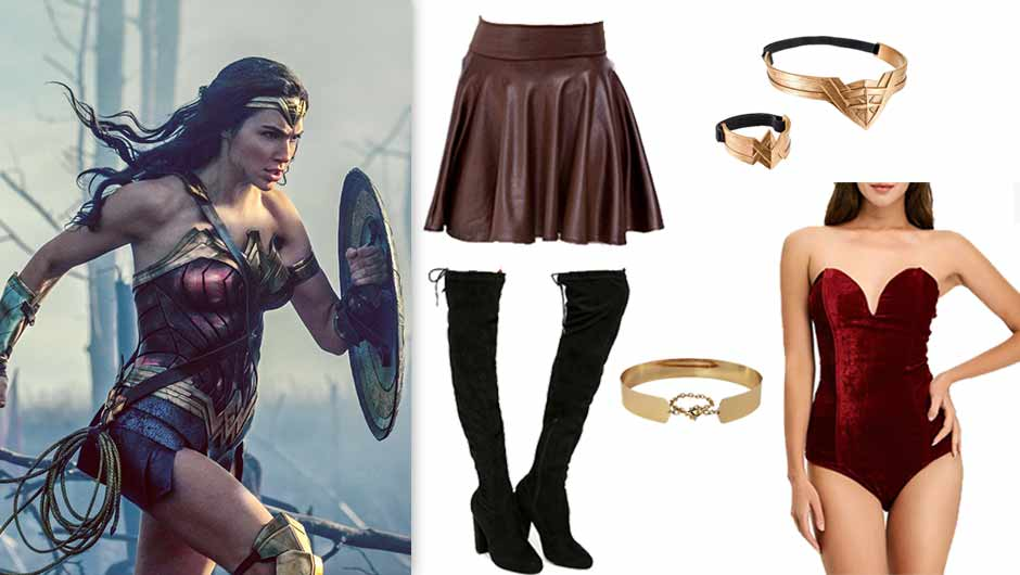 Where to get a wonder woman costume-5001