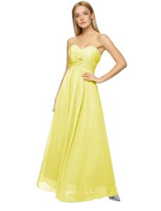 Strapless Maxi Evening Prom Bridesmaid Chiffon Dress 4899