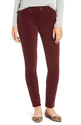 Diana Stretch Corduroy Skinny Pants