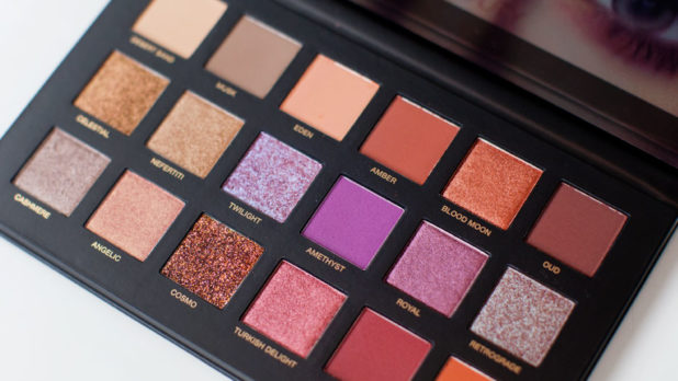 The Huda Beauty Desert Dusk Palette Is Crazy Beautiful-- See It To Believe It