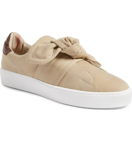 Knot Leather Sneaker