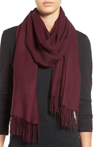 Tissue Weight Wool & Cashmere Scarf
