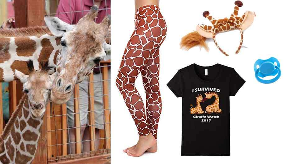 Celebrity fashion charlize theron spy lorraine broughton atomic everything youll need to diy an april the giraffe halloween costume this year solutioingenieria Gallery