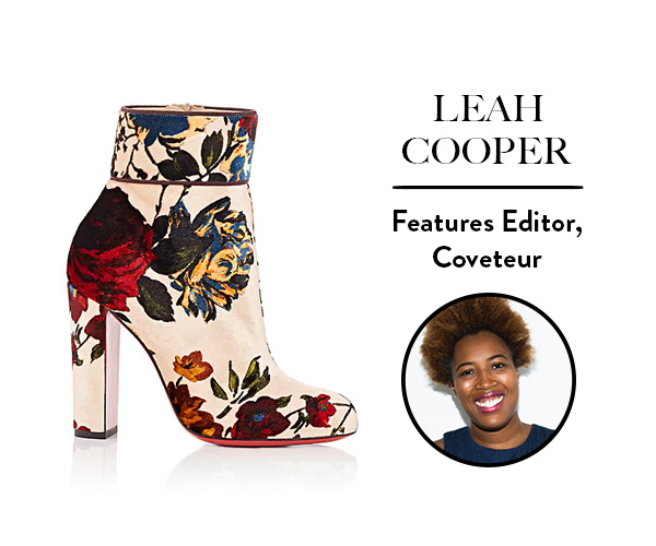Leah Cooper, Features Editor, Coveteur