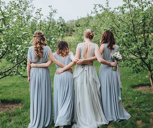 The Bridal Party Photo Location