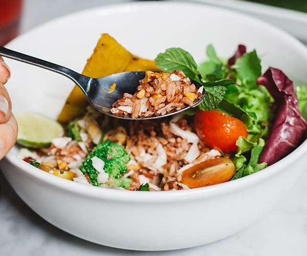 Protein Bowl With Brown Rice
