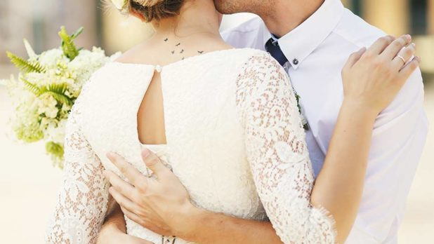 The Best Ways To Cover Up Tattoos For Your Wedding Day