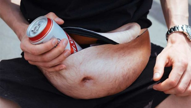 We Found The Most Bizarre Fanny Pack Ever & You Have To See It To Believe It (It's Got Hair On It!)