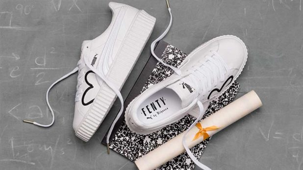 Drop Everything -- Rihanna's New Fenty x Puma Creepers Are Here