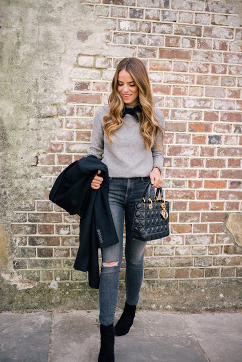 ankle booties outfit ideas