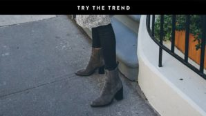 Grey Booties Are Trending Big Time For Fall--Get A Pair ASAP
