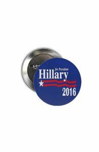 Hillary Clinton pin