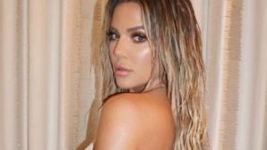 Khloé  Kardashian's Sexy New Selfie Proves She's #FitnessGoals