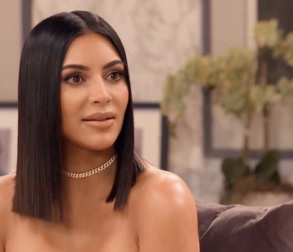 Kim Almost Miscarried While Pregnant With North