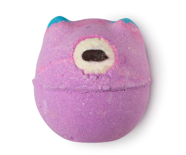 lush bath bomb monster