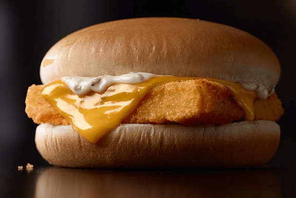 The one food you should never order from the mcdonald s for What she order fish fillet