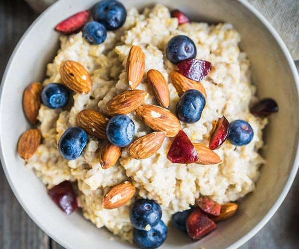 morning fiber boosts metabolism