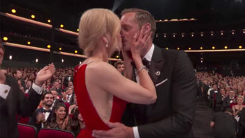 OMG! Nicole Kidman Kissed Alexander Skarsgard at The Emmys--Right In Front Of Keith Urban