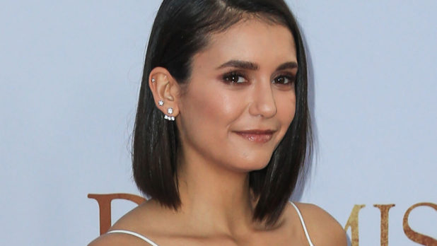 Did Nina Dobrev Not Realize She Walked Out Of The House Wearing Zit Cream?