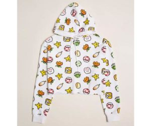 Forever 21 x Super Nintendo white hoodie