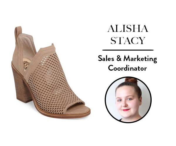 Alisha Stacy, Sales & Marketing Coordinator