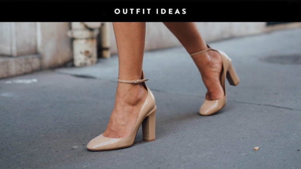 Here's How To Rock A Nude Shoe With Any Outfit