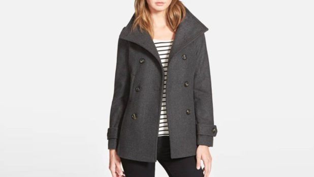 Nordstrom's Bestselling $37 Peacoat Is Back--Get One Before It Sells Out Again!