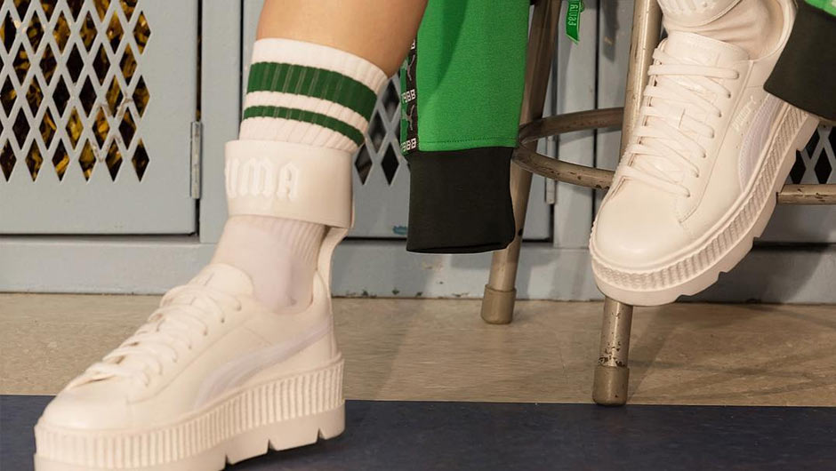 81bd47b17e02 Rihanna s Fenty x Puma cleated creepers dazzled fashion lovers everywhere  when they first premiered this season. And now