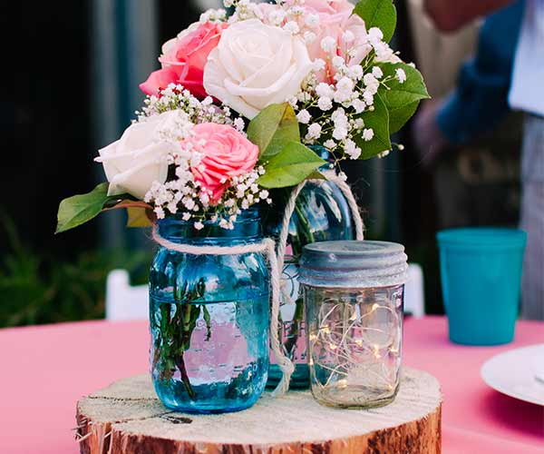 Mason Jar Wedding Centerpieces 96 Amazing FOLLOW